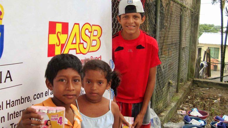 ASB entrega ayuda humanitaria a víctimas del terremoto de Ecuador