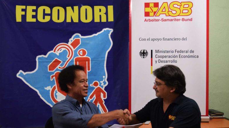 Nicaragua: ASB y FECONORI firman convenio de colaboración 2016-2019