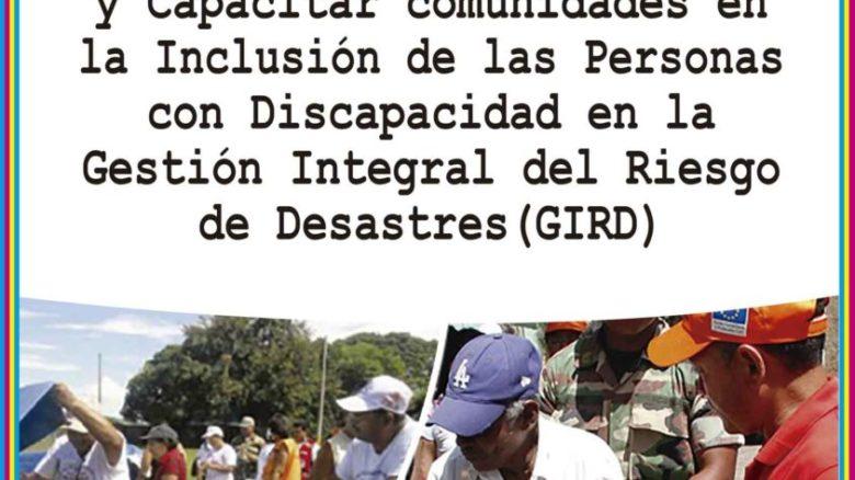 Guía para Concientizar y Capacitar comunidades en la Inclusión de las Personas con Discapacidad en la GIRD