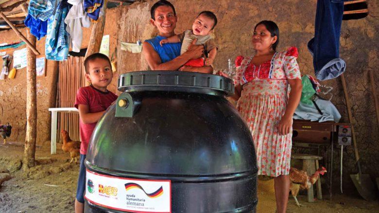 Seguridad alimentaria, acceso a agua segura y medidas de promoción de higiene para las familias más vulnerables del corredor seco centroamericano