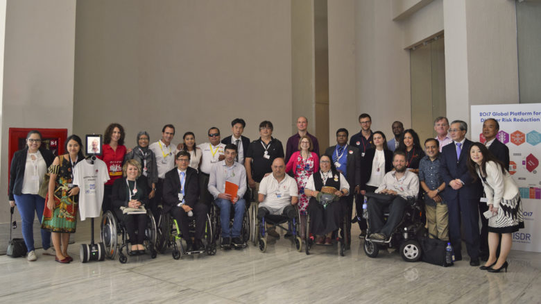 Las Personas con Discapacidad se hacen escuchar en la Plataforma Global de Reducción del Riesgo de Desastres