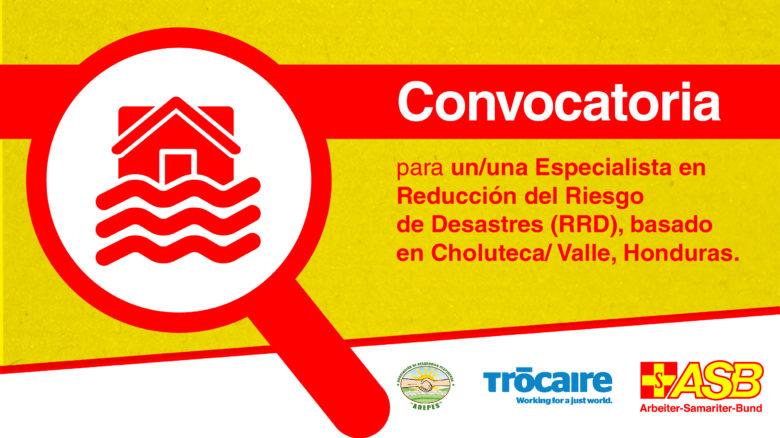 Especialista en Reducción del Riesgo de Desastres (RRD)