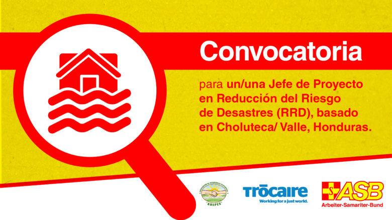 Jefe de Proyecto RRD en Honduras