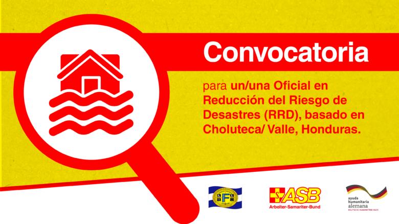 Oficial en Reducción del Riesgo de Desastres (RRD)