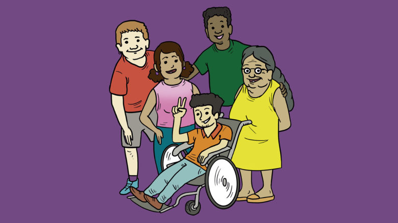 Gestión inclusiva del riesgo de desastres en discapacidad y adulto mayor. Libro para estudiantes de Secundaria.