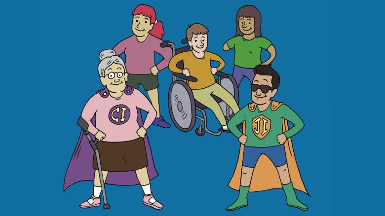 Gestión inclusiva del riesgo de desastres en discapacidad y adulto mayor. Libro para estudiantes de Primaria.
