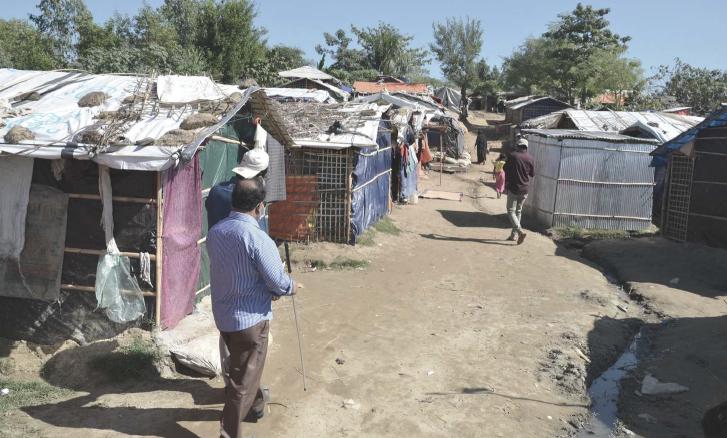 Diagnóstico rápido de ASB sobre inclusión de personas con discapacidad y adultos mayores en la respuesta humanitaria a la crisis de refugiados de Rohingya (En inglés)