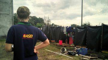 Ayuda humanitaria de emergencia a víctimas de la erupción volcánica en Guatemala
