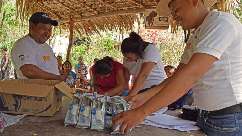 Fortalecimiento de la resiliencia de familias campesinas afectadas por la sequía en el corredor seco de Guatemala.