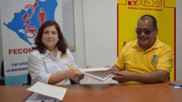 Nicaragua: ASB y FECONORI firman convenio de colaboración 2020-2024