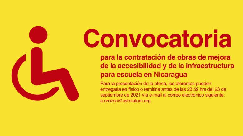Contratación de obras de mejora de la accesibilidad y de la infraestructura del Instituto Ramírez Goyena